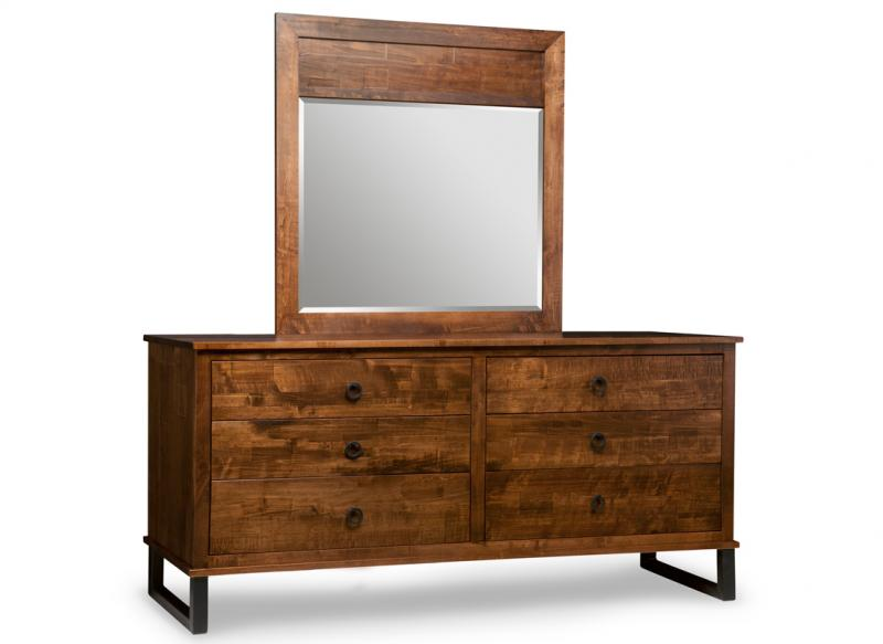 Cumberland 6 Drawer Long Dresser & Mirror | Iconic Furniture